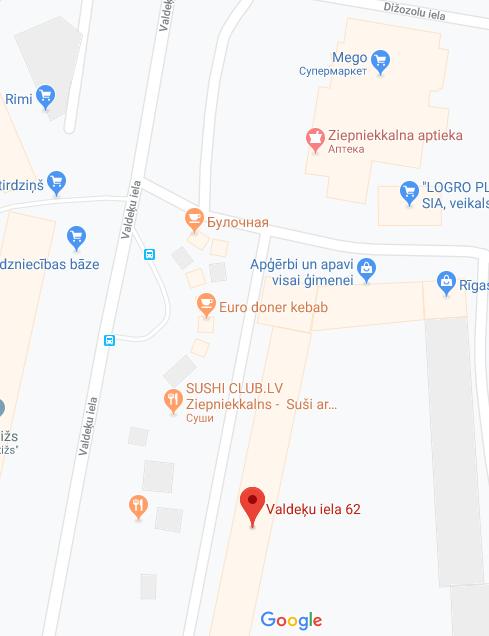 Map Bernibas sala