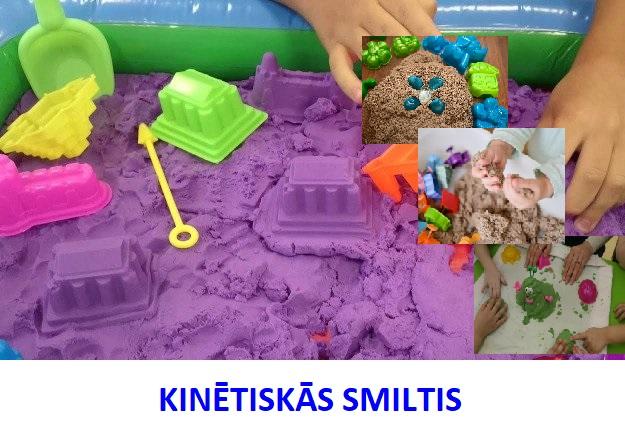 kinetiskas smiltis